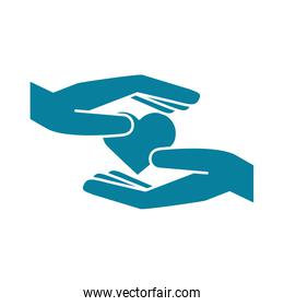 happy friendship day celebration hands heart love relation silhouette style icon