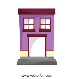 house property architecture entrance residential isolated icon