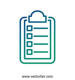 medical order document line style icon