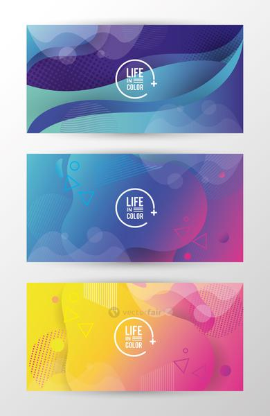 bundle of waves colors with arrow lettering background