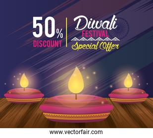 Diwali Festival Indian Offer Design