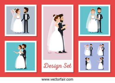 designs pack of couples married