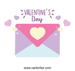 happy valentines day, mail envelope letter card love