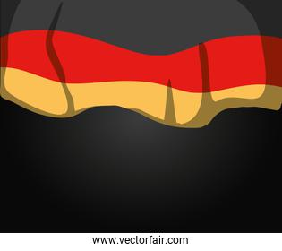 germany country flag frame decoration