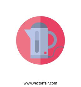 coffee machine home appliance isolated icon