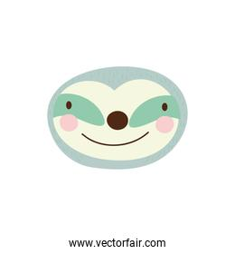 cute slot wild animal character icon