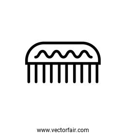 comb makeup accessory line style icon