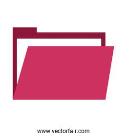 folder file document flat style