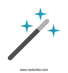 wand magic flat style icon