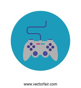 video game control block and flat style icon
