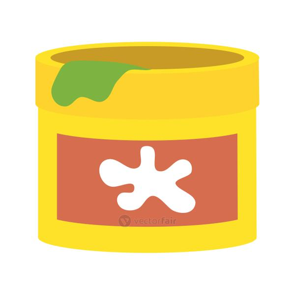 slime baby toy isolated icon