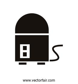 water heater home appliance isolated icon