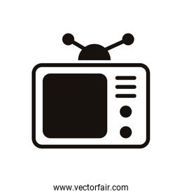 television appliance device isolated icon