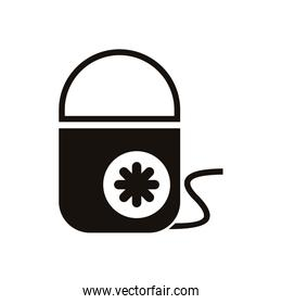 electronic home appliance isolated icon
