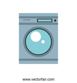 washing machine home appliance isolated icon