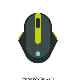computer mouse hardware isolated icon
