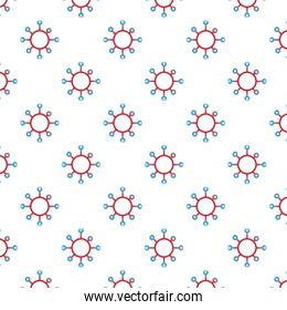 covid19 particles pandemic pattern background