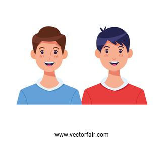 young men avatars characters icons