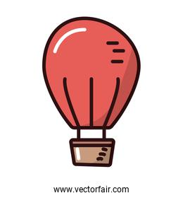 balloon air hot fill style icon