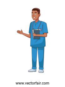professional doctor avatar character icon