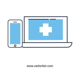 laptop portable with telemedicine technology