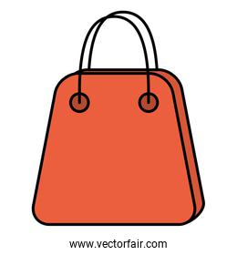 shopping bag paper commercial icon