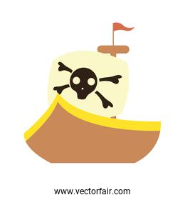 pirate ship cute baby toy