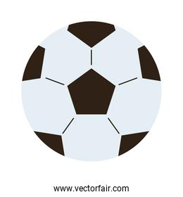soccer balloon toy isolated icon