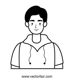 young man avatar character icon