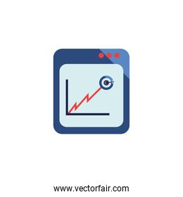 Isolated workflow icon vector design