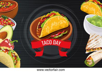 National Taco Day Celebration design