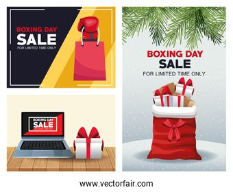 boxing day sale bundle of posters