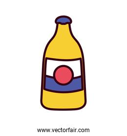 Isolated bottle icon vector design