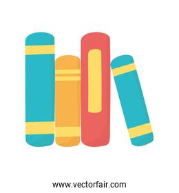 stack of books literature education knowledge