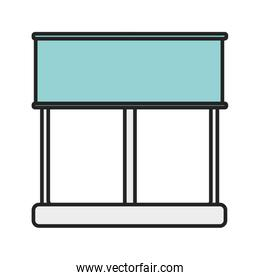 window with curtain view design
