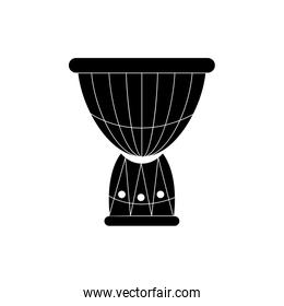 african drum musical instrument melody sound music silhouette style icon