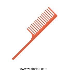 comb makeup accessory isolated icon