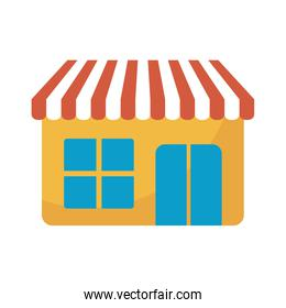 store front facade isolated icon