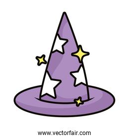 witch hat magic sorcery icon