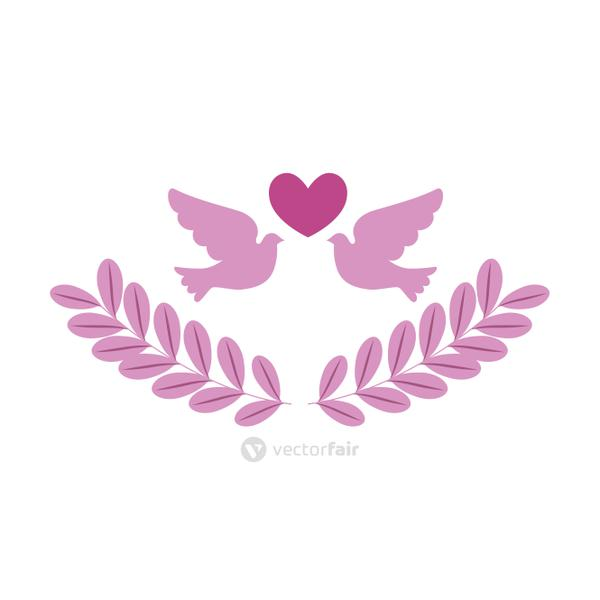 doves of the fight cancer against breast