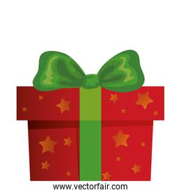 gift box christmas isolated icon