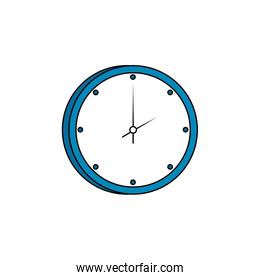 clock wall time isolated icon