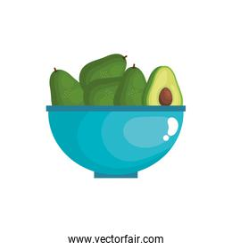 fresh and healthy vegetable isolated icon