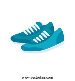 shoes of sport isolated icon