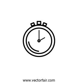chronometer time equipment line style icon