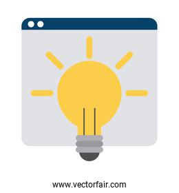 website creativity learning home education flat style icon