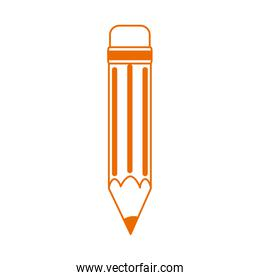 pencil write supply home education line color style icon