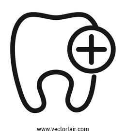 dentist service medical and health care line style icon