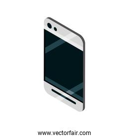 smartphone device gadget technology isometric isolated icon