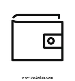 wallet icon, linear style